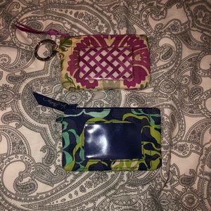 2 Vera Bradley id wallets